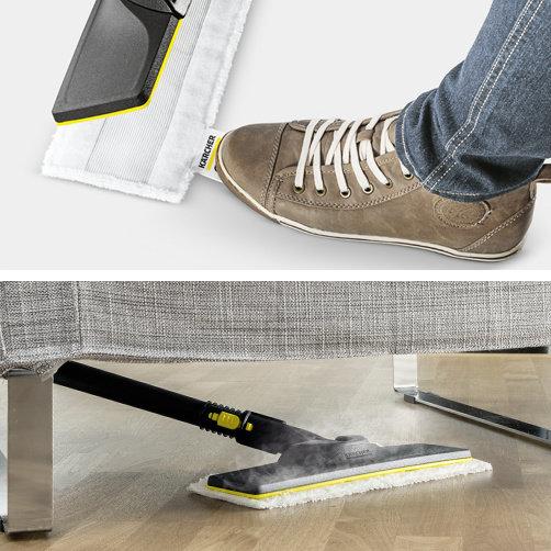 EasyFix հատակի վարդակով, կախիչով և հարմարավետ ամրացվող անձեռոցիկով